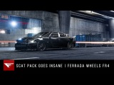 Scat Pack Goes Insane  Dodge Charger  Ferrada Wheels FR4