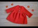 Детское пальто крючком (Children's coat hook)