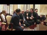 Владимир Путин посмотрел фильм «Викинг» ивстретился сосъемочной группой. Нов...