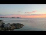 Ночевка на берегу Норвежского моря