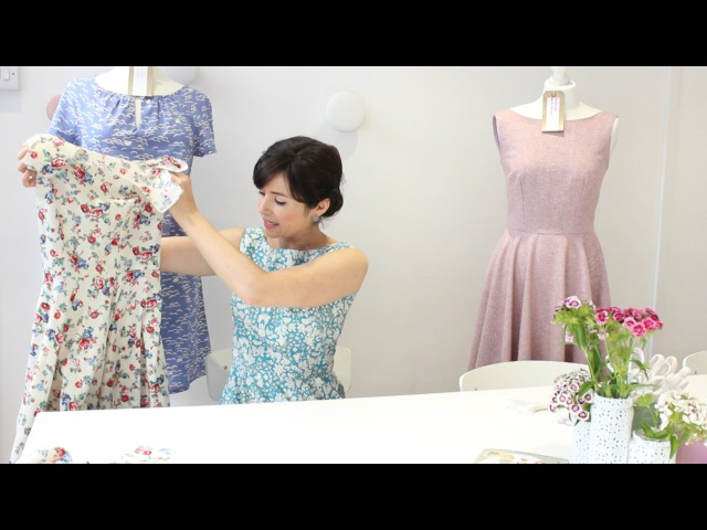 How to sew an all in one armhole and neckline facing