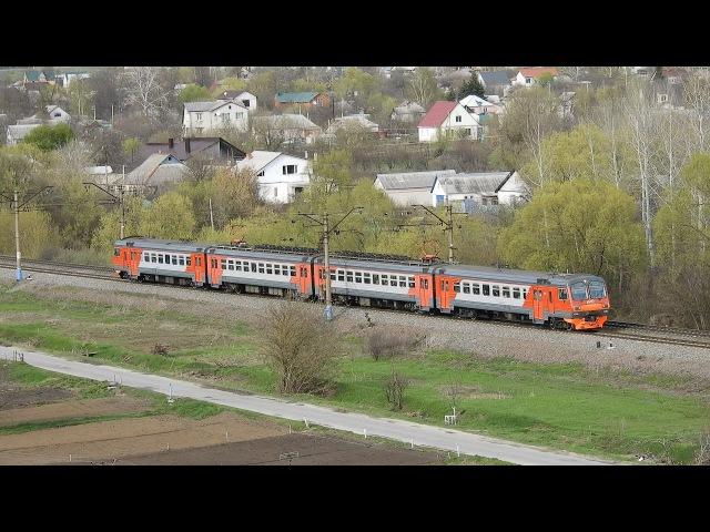 Електропотяг ЕД4М-1052/1051, перегін Біломістна - Бєлґород ПІВД.-СХІД. ЗАЛ.