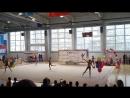Показательные выступления сборной Ульяновской области по художественной гимнастике в групповых упражнениях, бронзового призёра Ч