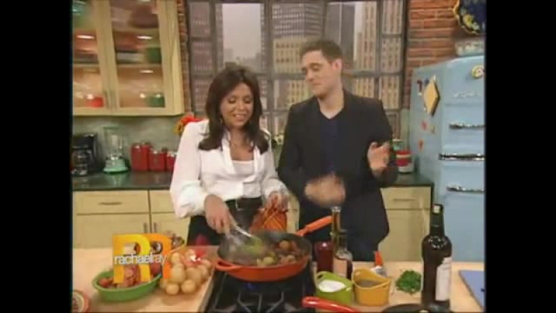 Michael Bublé On Rachael Ray Show (2009) (Spanich Tapas For Luisana)