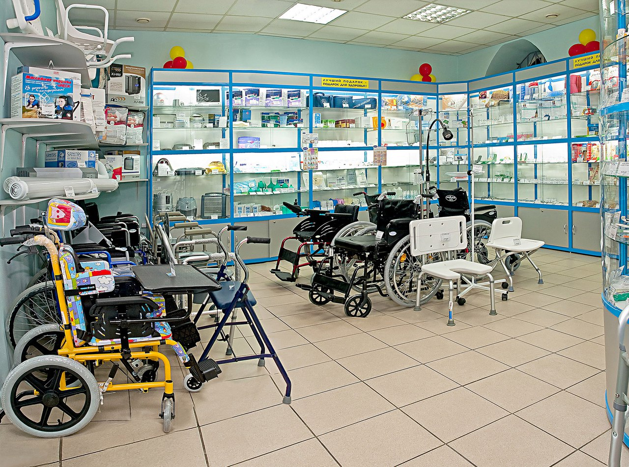 Сеть магазинов медтехники медоборудования