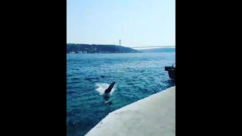 Emirgan Sahilde Yüzmek (8)