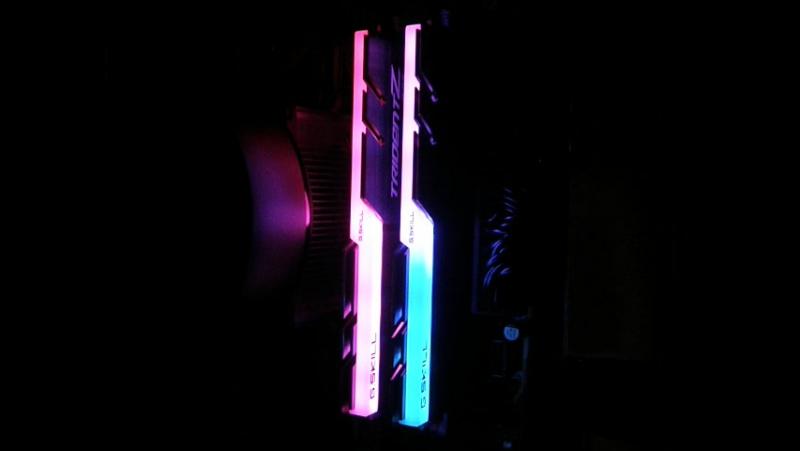 G.Skill TridentZ RGB 3200MHz ASUS AURA SYNC
