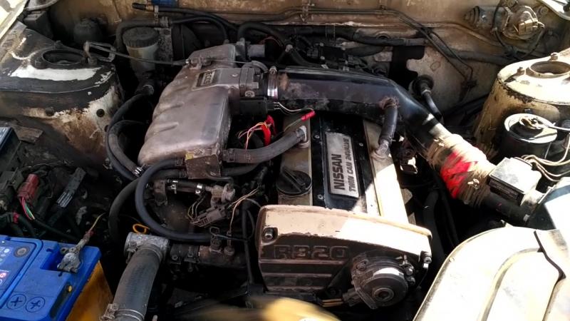 RB20DE не Нео Nissan Laurel 33