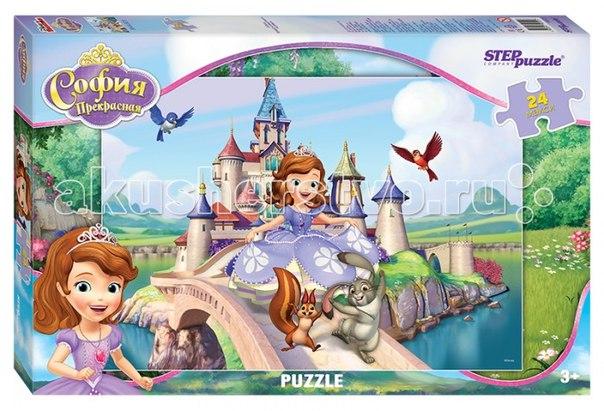 Пазл принцесса софия 24 элемента, Step Puzzle