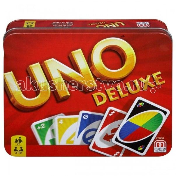 Настольная игра уно - версия люкс, Mattel