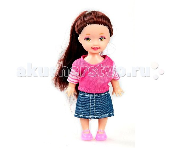 Кукла любимая малышка 10 см, Shantou Gepai