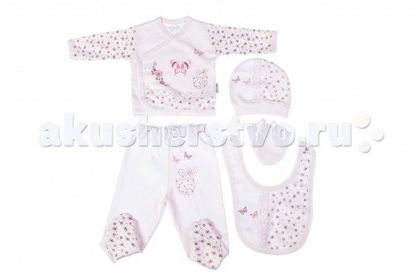 Подарочный набор для новорожденного (5 предметов) bbtf-820, Bebitof Baby