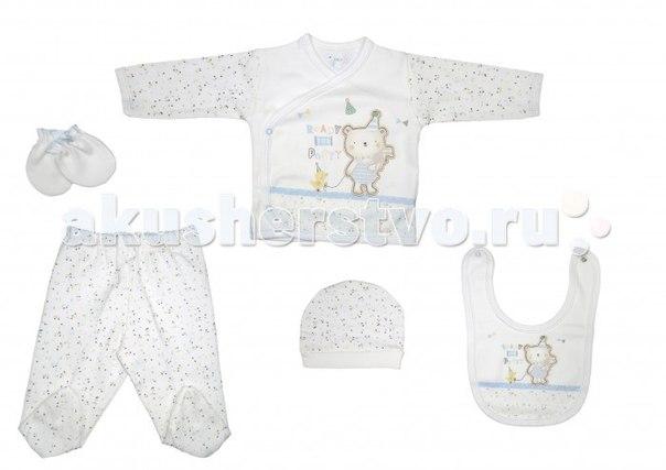 Подарочный набор для новорожденного (5 предметов) bbtf-834, Bebitof Baby