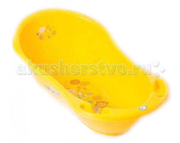 Ванночка для купания фолк 102 см, Tega Baby