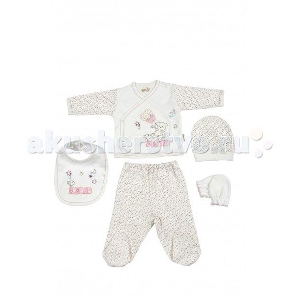 Подарочный набор для новорожденного (5 предметов) bbtf-702, Bebitof Baby