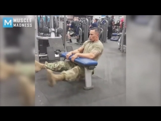 Super soldier - fit  strong _ muscle madness