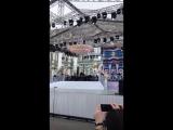 Дмитрий Хворостовский на праздновании дня рождения Санкт- Петербурга (генеральная репетиция )