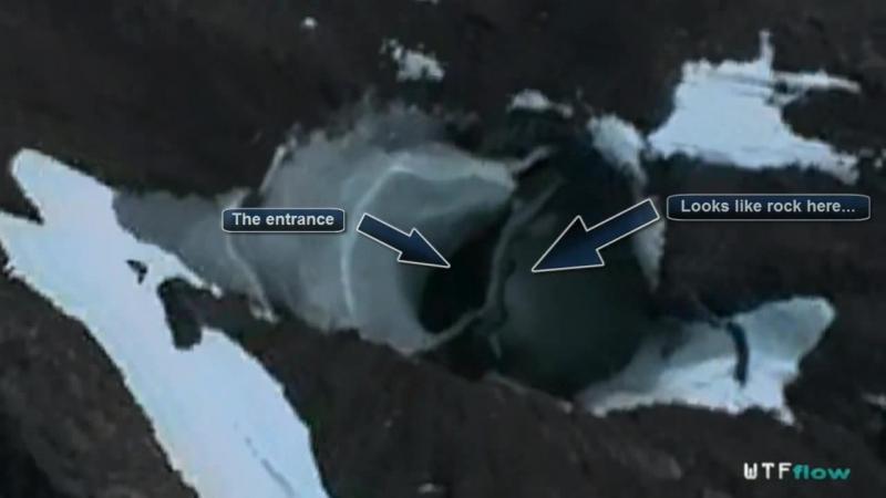 Underground UFO base in Antarctica Nov 2012