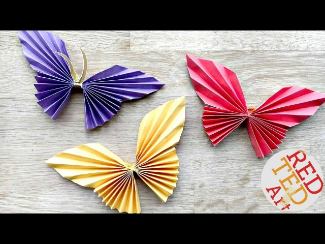 Easy Paper Butterfly Origami - Cute Easy Butterfly DIY - Origami for Beginners