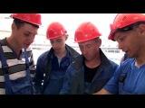 Стройотряд ДГТУ на строительстве стадиона