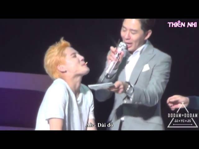 [VIETSUB] 150825 Pepero Game (YooSu) - Fanmeeting JYJ Membership Week 2015