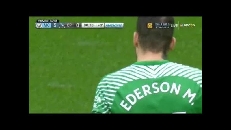 Ederson Moraes vs Crystal Palace (23-09-2017) Home