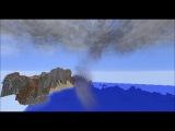 SuperCell timelapse in minecraft 2! Таймлапс суперячейки в майнкрафте! Торнадо в майнкрафте.