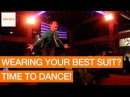 Man Dances on Mechanical Bull Wearing Best Sunday Suit (Storyful, Crazy)