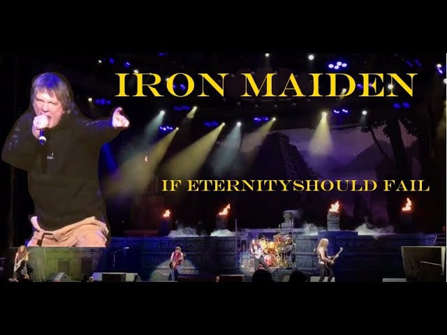 Iron Maiden - Intro / If Eternity Should Fail, 15.06.2017, Tinley Park IL (Chicago)