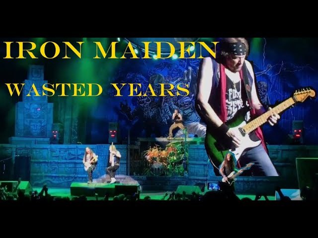 Iron Maiden - Wasted Years, 15.06.2017, Tinley Park IL (Chicago)