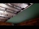 Как сделать потолок из гипсокартона в деревянном доме своими руками