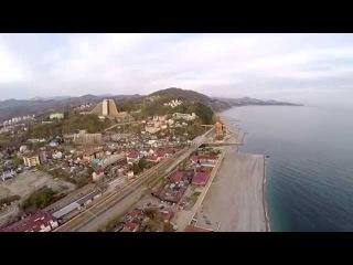 Sochi, Russia - Dagomys, 29.03.2015, DJI Phantom 2, Zenmuse h3-3d, GoPro Hero 4