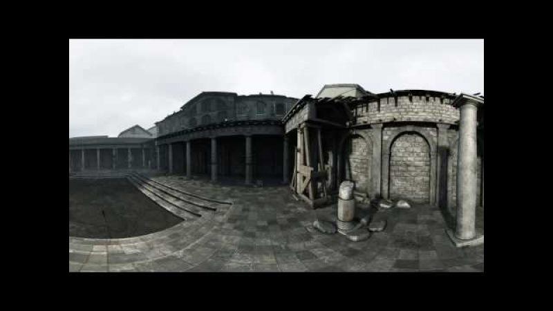 Меч короля Артура - побег из Лондиниума. Видео 360.