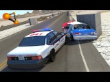 BeamNG.drive - High Speed Police Chases Take Down #6
