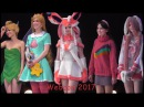 Webcon 2017 Defile Cosplayers
