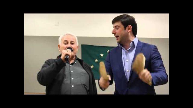 Psiblane Faruk Азамат Биштов Psiblane Murat 1 @ Tscherkessische Kulturtage 2016