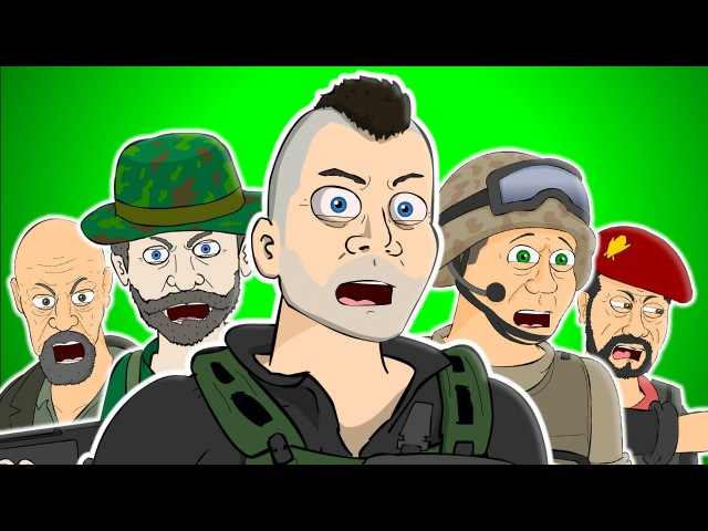 ♪ CALL OF DUTY: MODERN WARFARE THE MUSICAL - Animated Parody Song