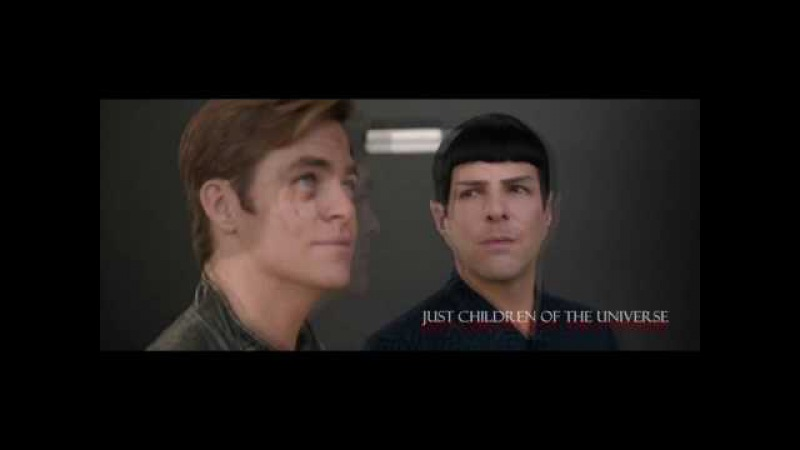 Children of the universe (spirk; spock kirk; K/S)