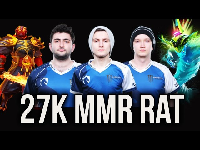27k MMR Rat Liquid VG J Grand Final Amazing Dota 2 Miracle Ember Matumbaman Morphling