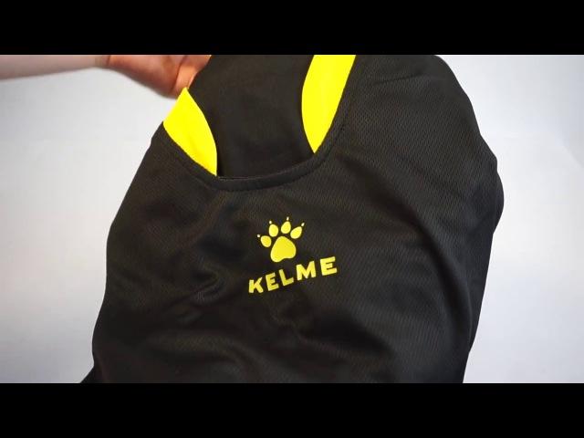 Арт.: 80946-26. Майка Kelme T-SHIRT ENTRENO S/S черно-желтая 😱