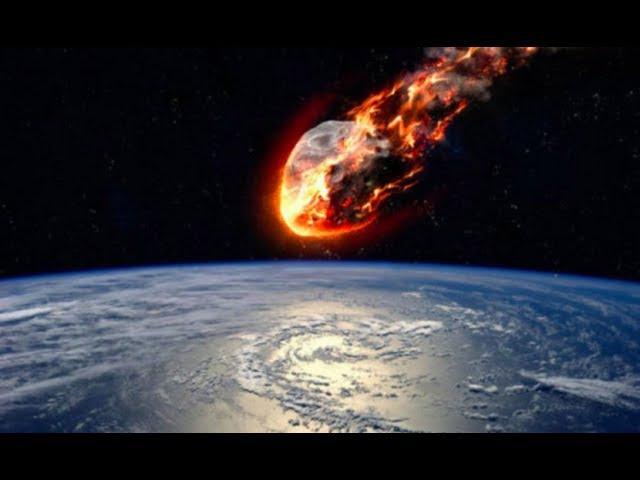 Как падают метеориты на Плоскую землю? А вот так!