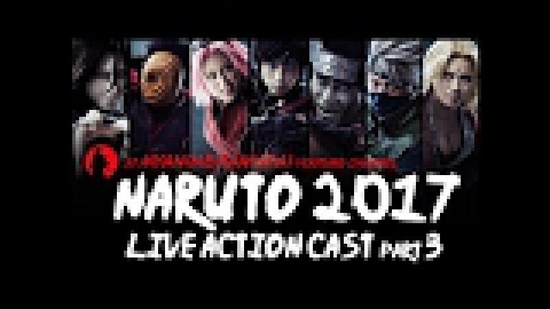 Naruto 2017 live action cast part 3 for new Live Spectacle Naruto The Akatsuki Investigation