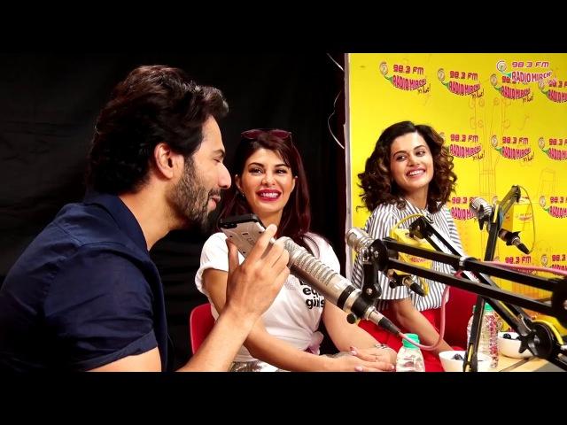 Varun calls Anu Malik live on Camera | Judwaa 2 | Varun | Jacqueline | Tapsee | Radio Mirchi