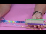 How to Make a Knitting Loom from a TP Tube  Sophie's World