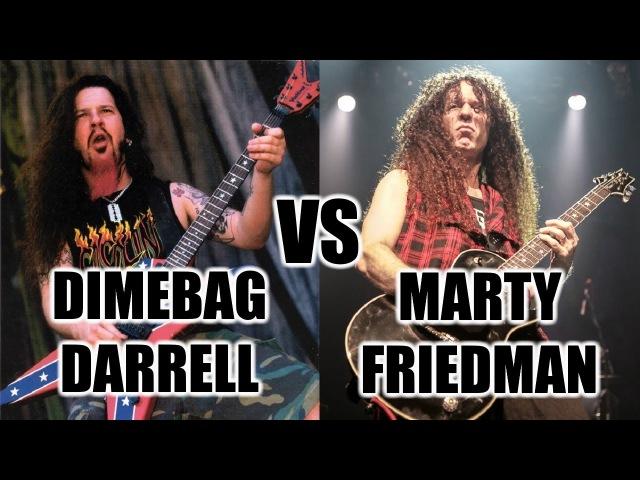 Dimebag Darrell Vs Marty Friedman