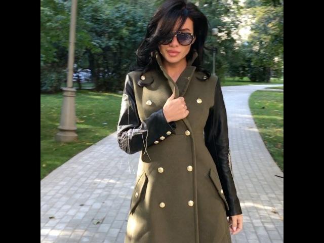 Роковая красотка Анастасия Ковалёва похвасталась своим новым пальто