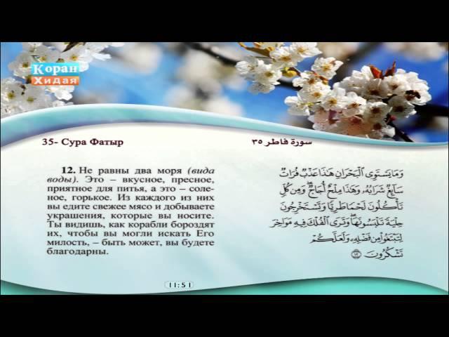 35 Сура Фатыр Саад Эль Гамеди Машари Рашид Эль Афаси Сабир Абдель Хакам