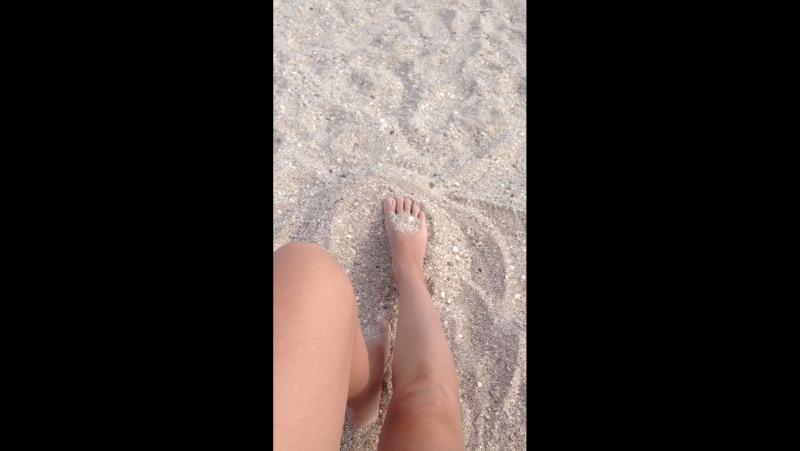 Ейский лиман, пляж
