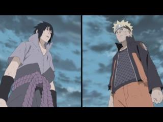 Саске против Наруто. Финальный бой (Naruto Shippuuden. Sasuke and Naruto) .