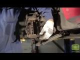 Chevrolet Aveo, замена передних тормозных колодок
